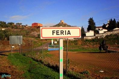 Salida de Feria por la Carretera de Burguillos.