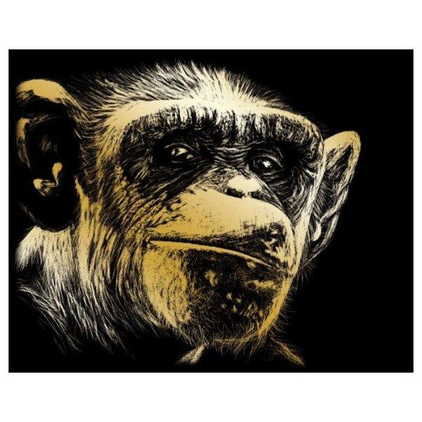 Гравюра Royal & Langnickel Человекообразная обезьяна ...