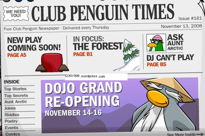 dojo grand reopening! and ninjas are coming back!