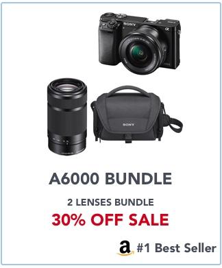 sony a6000 bundle deals amazon banner