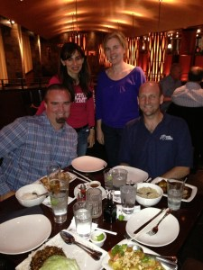 Sloan Emerging Technology Conf. April 8, 2013. Bill Moseley, Sonya Christian, Leah Carter, Todd Coston