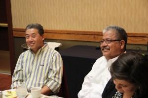 Charles Kim and Corney Rodriguez