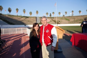 Sonya Christan and Congressman Kevin McCarthy