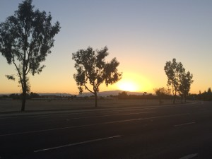 Bakersfield Sunrise Aug 24 2015