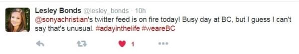Lesley Bonds Tweet Dec 4 2015