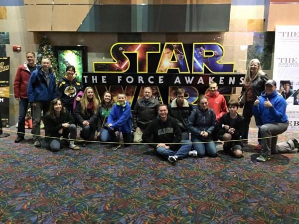 Strobels at Star Wars