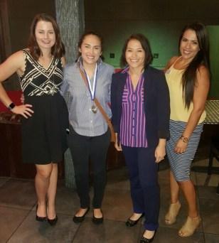 Lauren Skidmore, Andrea Hernandez, Connie Gonzales, Lisa Kent