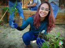 BC student helping out Homeless Center project March 5 2017