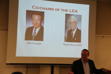 Co chairs of LEA Milt Younger and Harvey Hall