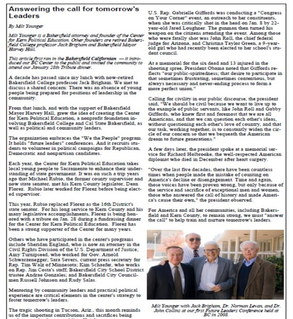 Kern IQ Winter 2011 Page 9