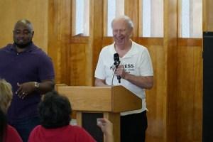 Disability Awareness Assessment Center Recepient Speaker Chuck Wall