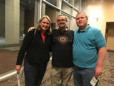 Janet Tarjan, Reggie Williams, Andrew Bonds at Panorama Creative Music Summit Oct 11 2017
