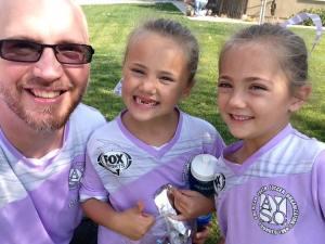 Matt Garrett and his daughters Oct 14 2017
