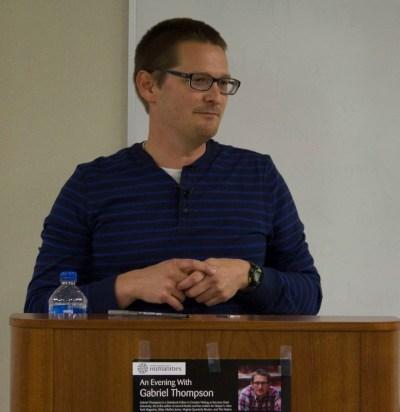 Author Gabriel Thompson