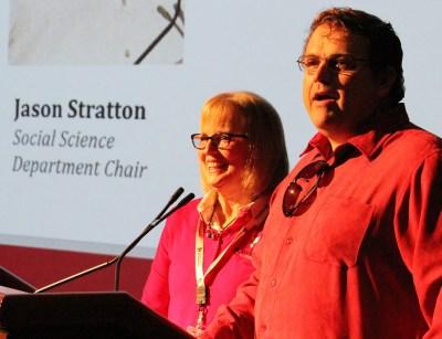 Liz Rozell and Jason Stratton