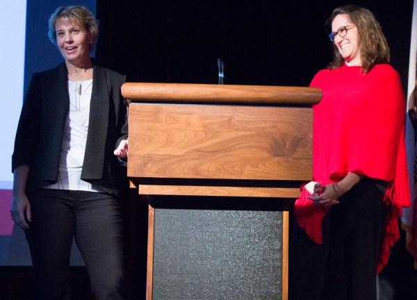 Billi Jo Rice and Di Hoffman