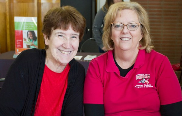 Cynthia Garbett and Denise Crawford