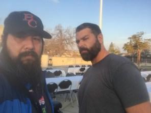 Selfie Eric Carillo and Manny de Los Santos Jan 11 2018