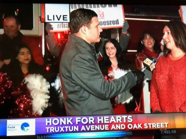 Cheer Team Honk for Hearts
