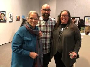 Nan Gomez Heitzeberg, Ronnie Wrest, Jamee Eaton Feb 1 2018