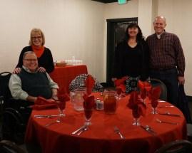 Liz, Paul, Jason, & Karen @ dinner