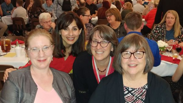 Ann Tatum, Sonya Christian, Pam Boyles, Kate Pluta April 7 2018
