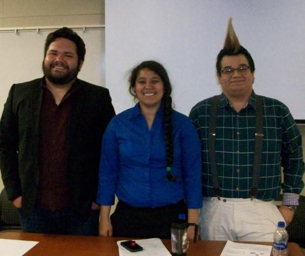 Brian Melgar, Sarai Jaime, Steven Ledesma.