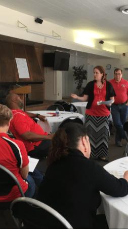 Anna Laven Admin Council Retreat