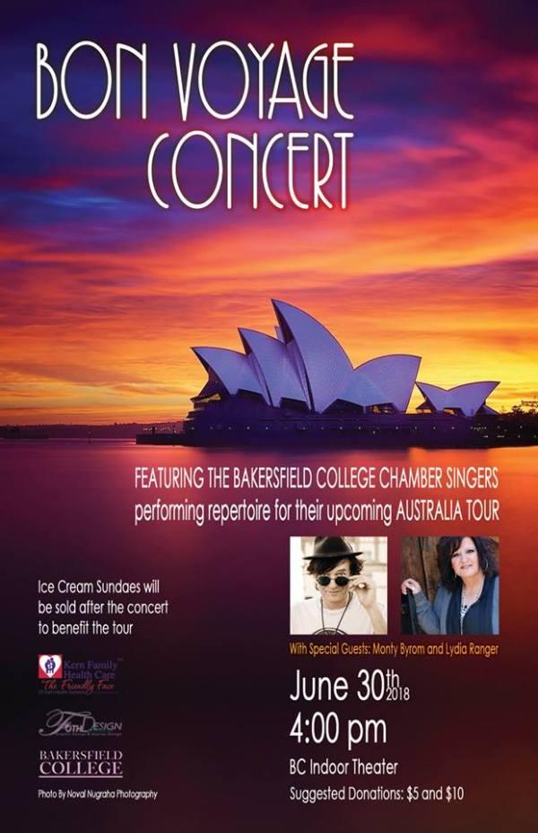 Bon Voyage Concert June 30 2018