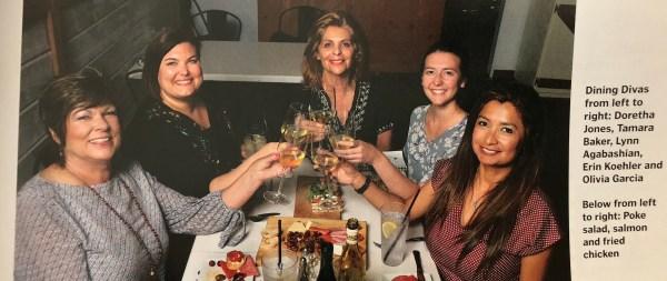Dining Divas Tamara Baker, Olivia Gracia June 30 2018