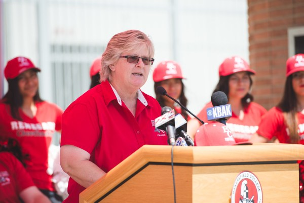 Athletic Director Sandi Taylor 2017 Renegade Football