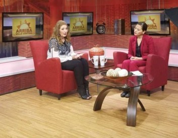 connie-gonzales-at-univision-promoting-mesa-stem-pre-health-conference cropped