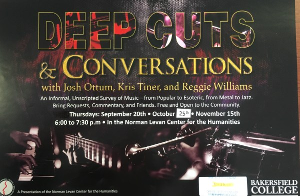 Deep cuts poster designed by Eric Carillo