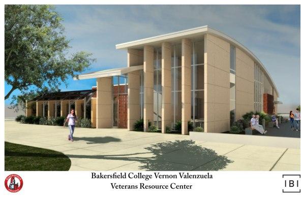 Digital Rendering of the Veterans Resource Center