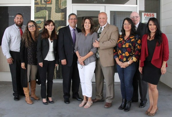 Group Photo of BC Representatives at the KCCD Board Meeting