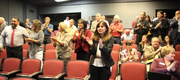 Standing ovation after the vote Oct 11 2018.jpg