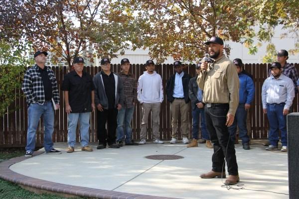 Mech Ag students speaking
