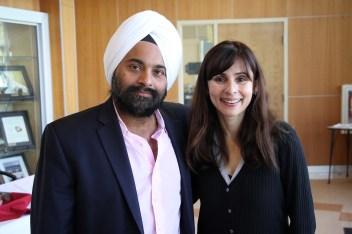 Jeet Singh, Sonya Christian Oct 31 2018