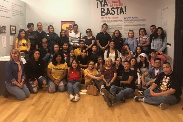 Spanish Club at Plaza de Cultura y Arte