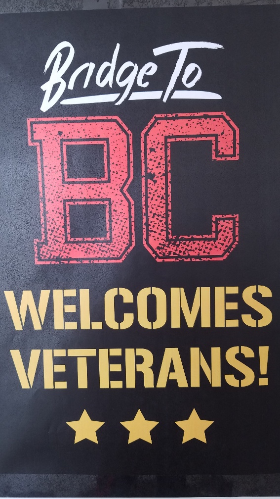 BC Welcomes Veterans!
