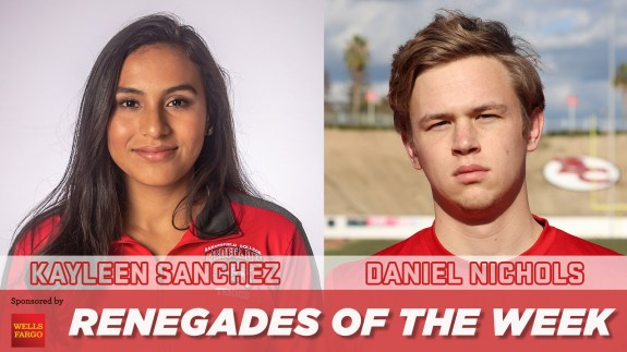 Kayleen Sanchez and Daniel Nichols