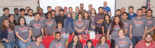 Group shot of Hackathon participants