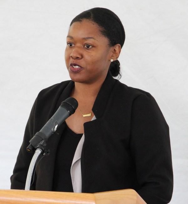Woman speaking