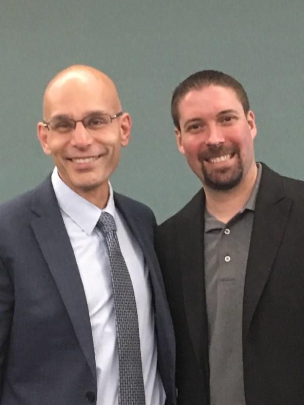 Manny and Dr. Scott Dirkse
