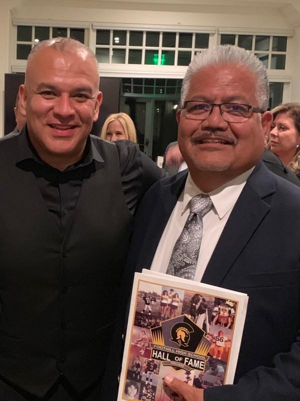 Victor Diaz and Corny Rodriguez