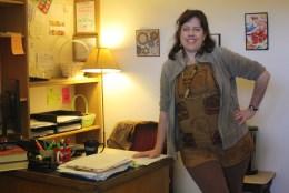 SI Coordinator Eileen Pierce.