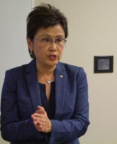 Mayor Karen Goh.