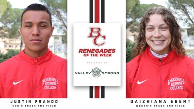 Renegades of the week.