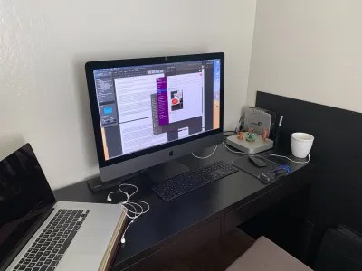 Dylan Wang's virtual workstation.