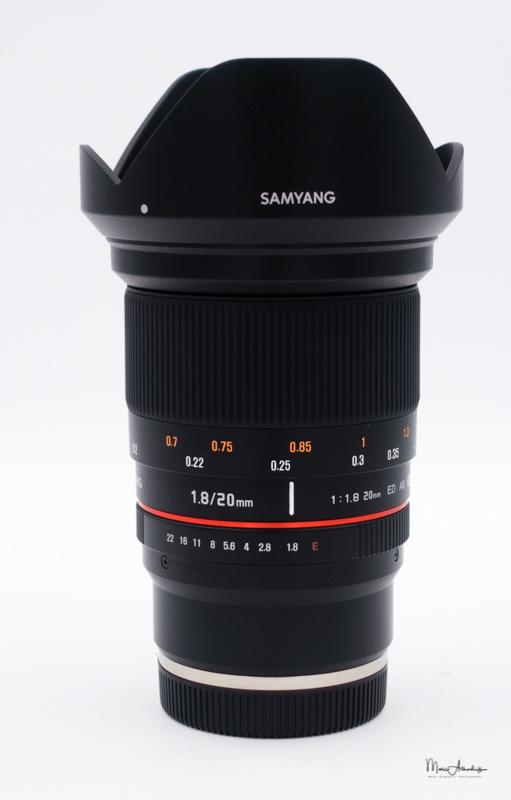 Samyang 20mm F1.8 ED AS UMC- -003